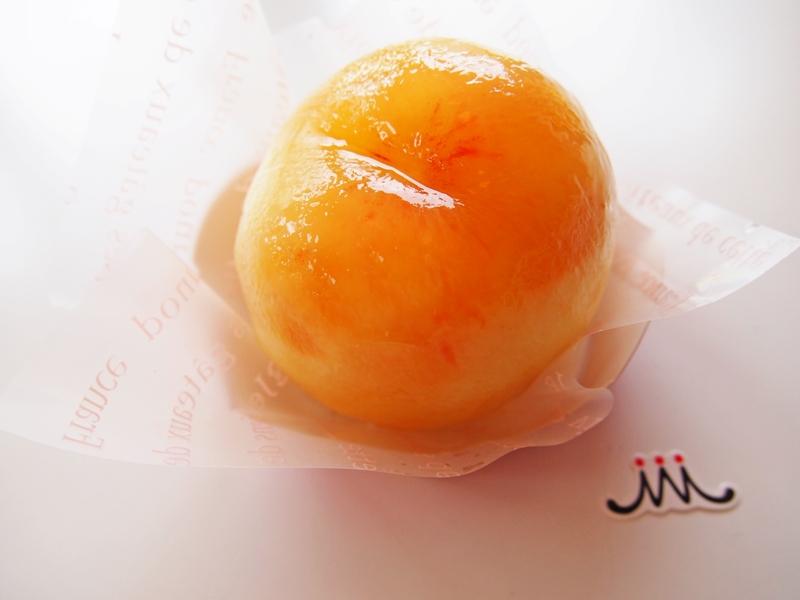 桃のガトー
